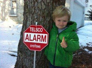 Cute Kid with TELSCO Thumb'sUp