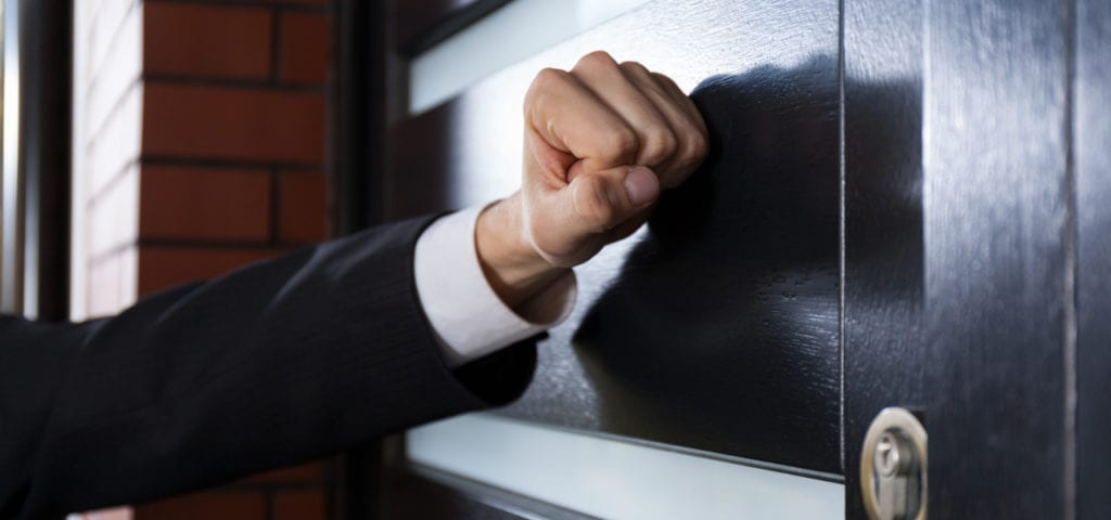 Beware of door to door sales