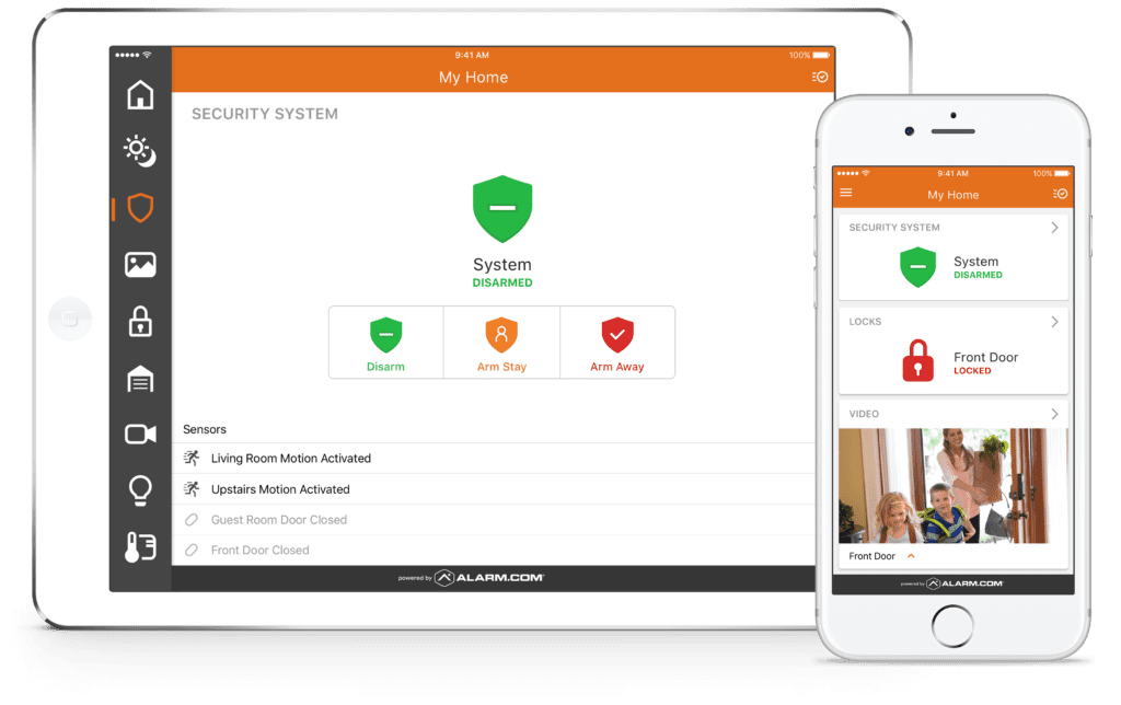 Telsco connect home security system edmonton this powerful convenient platform allows you to stay connected to what is happening at home when you cant be there if you have ever found yourself solutioingenieria Images